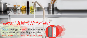 Hot water heater sale
