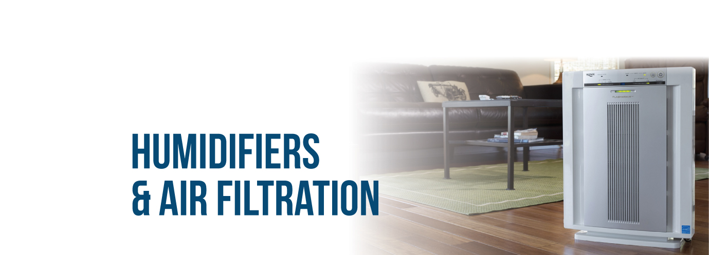 Humidifiers and Air Filtration